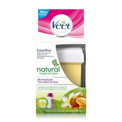 VEET Easy Wax Elettrico Roll-on Ricarica Natural Ispirations p...