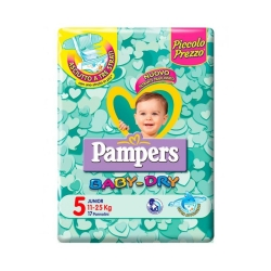 PAMPERS BABY DRY DUO JUNIOR X34